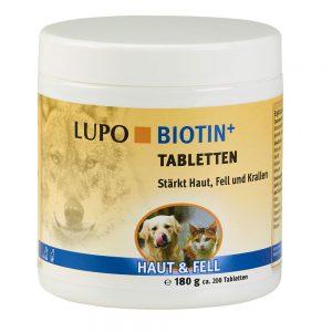 LUPO Biotin+ Ekonomipack: 2 x 180 g (ca 400 tabletter)