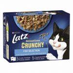 Latz Sensations Crunchy Fish Selection Gelé Multipack 10x85 g