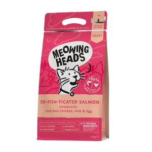 Meowing Heads So-fish-ticated Salmon (1,5 kg)