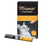 Miamor Cat Snack Multivitamin Cream - Ekonomipack: 24 x 15 g