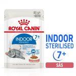 Royal Canin Indoor Sterilised 7+ i sås - 24 x 85 g