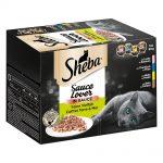Sheba 12 x 85 g portionsform i blandpack - Sauce Speciale