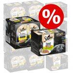 Sparpris! 48 x 85 g Sheba + 48 x 37,5 g Perfect Portions Kyckling - Sauce Lover