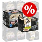 Sparpris! 48 x 85 g Sheba + 48 x 37,5 g Perfect Portions Lax - Selection in Sauce