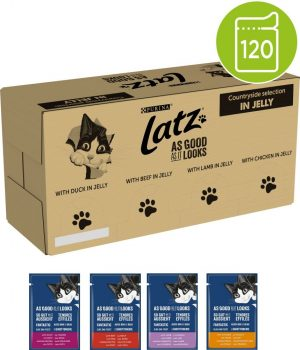 """Stort ekonomipack: Latz """"""""As good as it looks"""""""" 120 x 85g Doubly Delicious"""