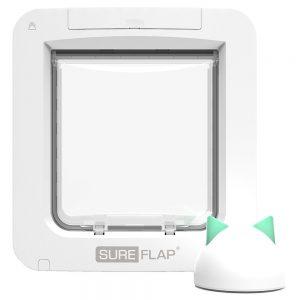 SureFlap Microchip Pet Door Connect husdjurslucka Tunnelförlängning, vit
