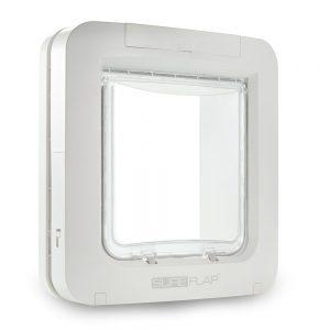 SureFlap Microchip husdjurslucka - Monteringsadapter för glas & metall, vit