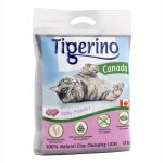 Tigerino Canada kattströ - Babypuderdoft - Testpack: 6 kg