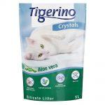 Tigerino Crystals Aloe Vera kattsand Ekonomipack: 3 x 5 l