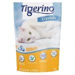 Tigerino Crystals Classic kattsand med silikat - Ekonomipack: 6 x 5 l