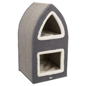 Trixie Cat Tower Marcy - Crème/grå