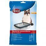 Trixie påsar för kattlådan - XL: upp till 56 × 71 cm, 10 st