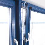 Trixie skyddsgaller för pivotfönster, sidodel - 2 st á L 62 × B 16/7 cm