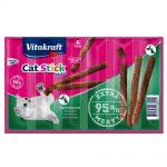 Vitakraft Cat Stick Mini Ekonomipack: 24 x 6 g Anka & kanin