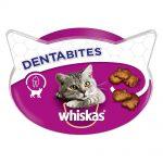 Whiskas Dentabites Ekonomipack: Kyckling 8 x 40 g
