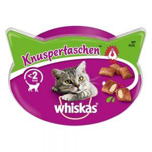 Whiskas Temptations Ekonomipack: Lax 8 x 60 g