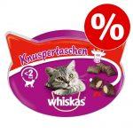 Whiskas kattgodis till sparpris! - Temptations Nötkött (60 g)