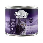 Wild Freedom Senior Wild Hills Duck & Chicken - Ekonomipack: 12 x 200 g