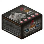alpha spirit Multi-Flavour Snacks for Cats - 9 x 35 g