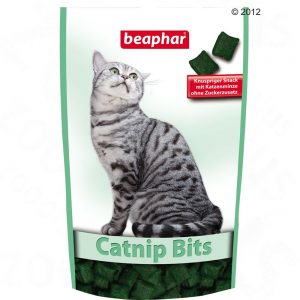 beaphar Catnip-Bits - Ekonomipack: 3 x 150 g