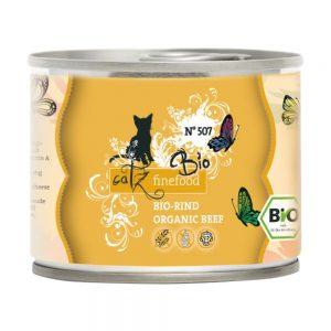 catz finefood Bio 6 x 200 g - No.507 Nötkött